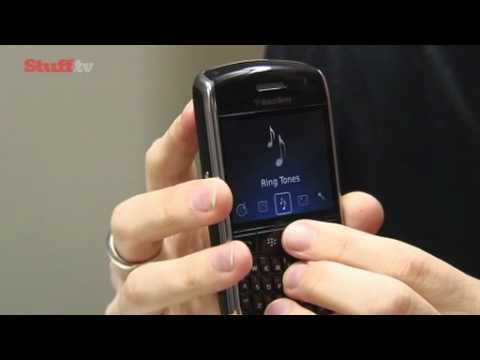 Blackberry Curve 8900 video review from Stuff.tv