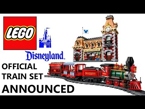 LEGO Disney Train and Station Set Announced
