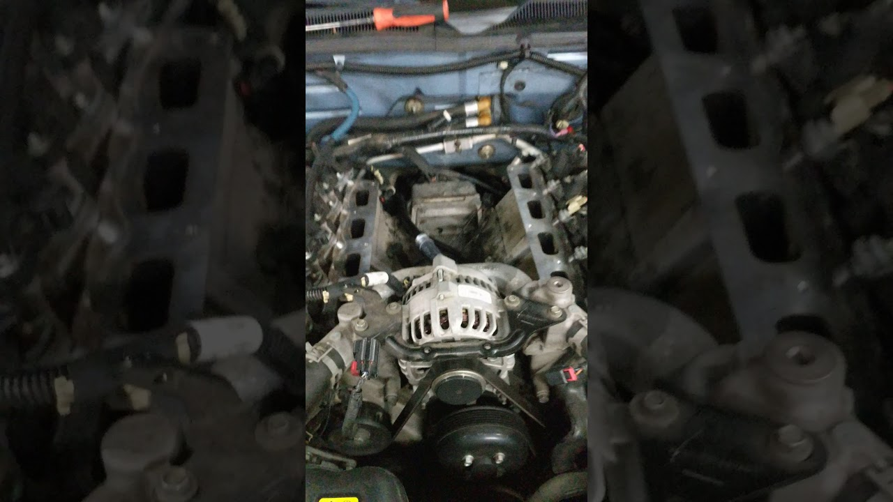 2005 Ford Mustang Gt Coolant Leak Repair Heater Hose Embly