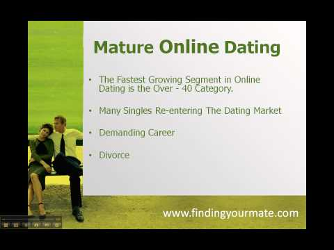 online dating for mature singles