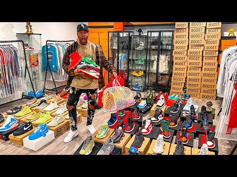 My $1,000,000 Sneaker Collection!!! (Full Closet Tour)