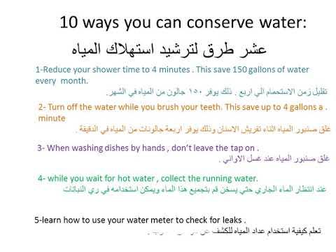 مكان التحميل تعبير عن الماء بالانجليزي مترجم بالعربي