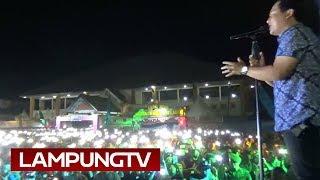 Gambar cover Wali Hentakkan Ribuan Penonton Lampung Fair 2018
