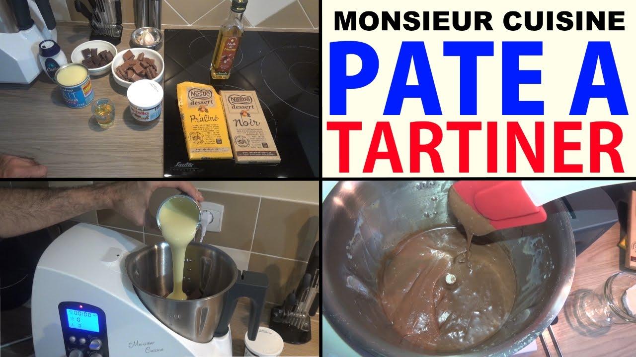 pate à tartiner maison recette (type nutella) avec le monsieur