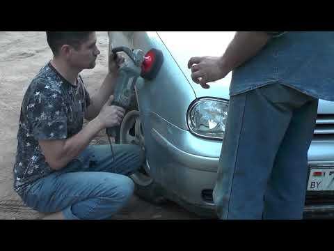 Как исправить протир на лаке авто. How to fix errors on the clearcoat