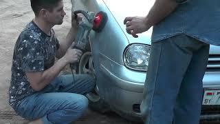 видео Маскировка царапин и погрешностей кузова: полировка кузова автомобиля