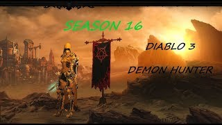 Diablo 3 Season 16 Demon Hunter 115 GR