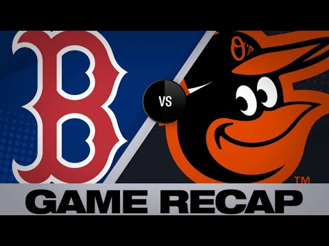 Red Sox Hit 6 Home Runs In 13-2 Rout Of O's   Red Sox-Orioles Game Highlights 6/14/19