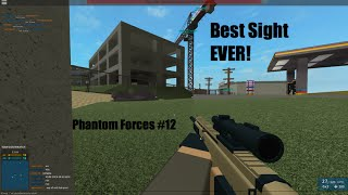 Roblox Phantom Forces #12-The Best Scar-L Sight EVER!