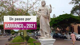 Caminando por Barranco Lima Peru 2021 4k, caminando por Saenz Peña en Barranco