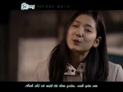 [Vietsub + Kara] Kim Jong Kook - Letter MV (Starring Park Shin Hye)