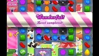 Candy Crush Saga Level 1193 Complete - No Booster