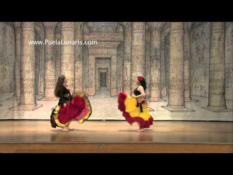 Falda Fights- Spanish Gypsy Skirt Dance tribute to Antonio Gades