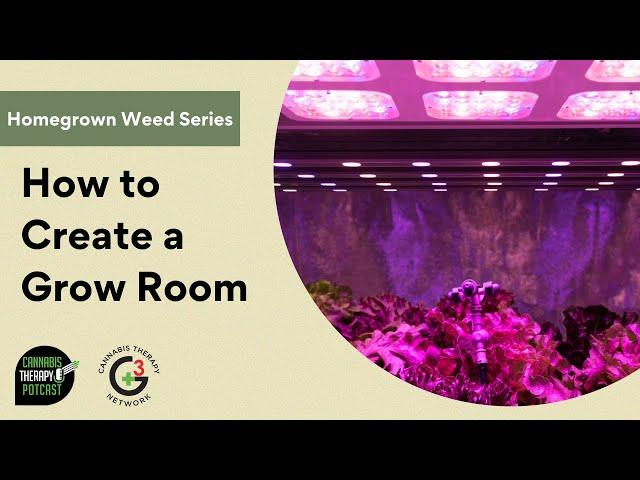 How To Set Up A Cannabis Grow Room