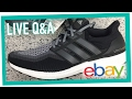 LIVE Q&A: SELLING SHOES ON EBAY & AMAZON (SELL FASTER)