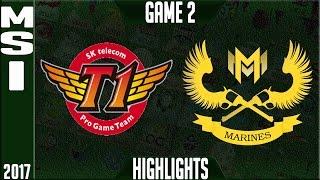 SKT T1 vs Gigabyte Marines Highlights MSI 2017 Day 3 Group Stage - SKT vs GAM Highlights