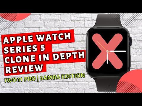Apple Watch Series 5 Clone | IWO 11 Samba