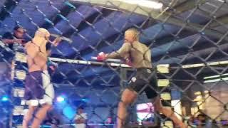 Chris Chavez vs Demarcus Brown California Cage Wars Independent Warriors Episode 2