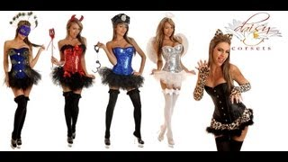 Sexy Halloween Costumes Featuring : Daisy Corsets
