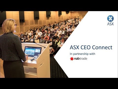 ASX CEO Connect - 15th October 2019
