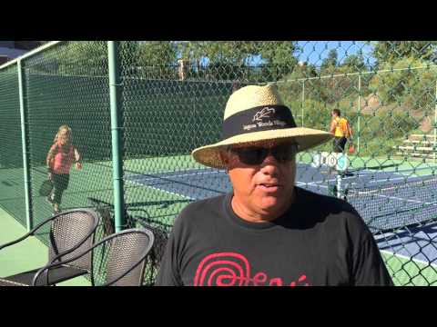 Jeff Ehrlich Takes Us To The Pickleball Courts In Laguna Woods Village