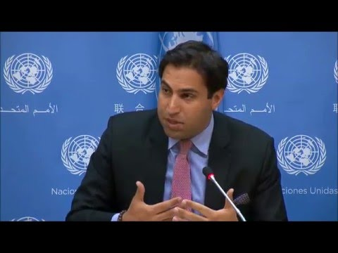 ICP Asks UN Youth Adviser about UNpaid Interns,  If Any Youth Involvement in UN's Syria Talks