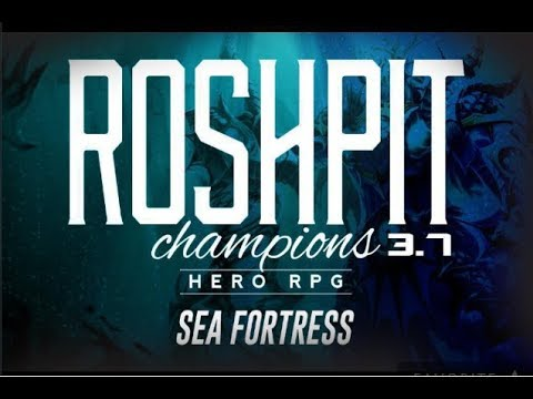 Dota Roshpit Champions 3.7 - Sea Fortress Walkthrough No Skip. ( Build Reveal At End )
