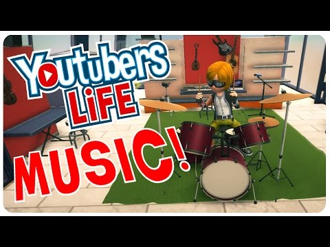 Youtubers Life - Music Channel Update | Youtubers Life Gameplay