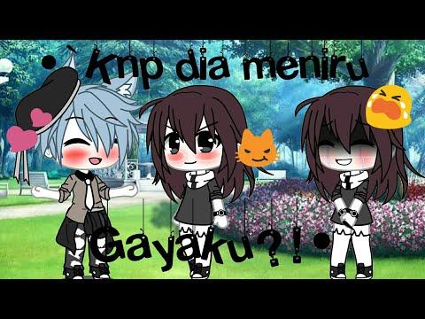 •`Knp dia Meniru Gayaku?!•` (GLMM) Gacha Life indonesia~ By:•Zeevana Raisha• Read deek please:)