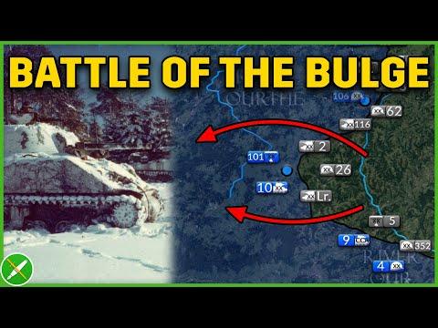 Battle Of The Bulge 1944 DOCUMENTARY