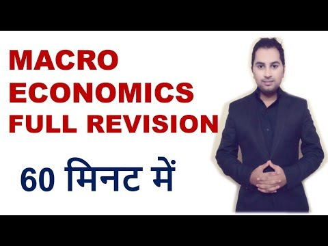 What is macroeconomics Full Course revision class 12 |11th |
