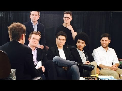 Cast and Crew of 'Paper Towns' Interview at BookCon 2015