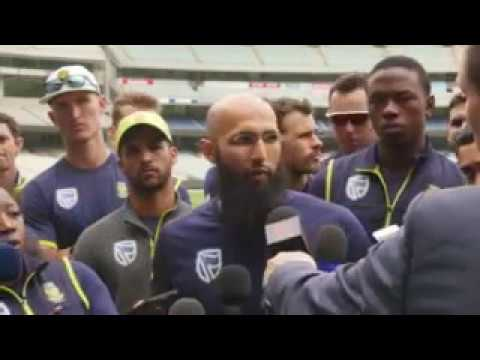 Hashim Amla and the Proteas back Faf du Plessis