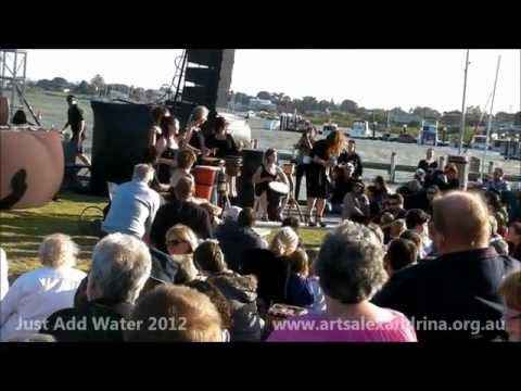 Watersong - Just Add Water, Goolwa Wharf, 2012