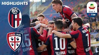 Bologna 2-0 Cagliari | Bologna earn huge win in relegation fight | Serie A