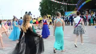 Танцевальный флешмоб выпускников 2016, Комсомольск-на-Амуре