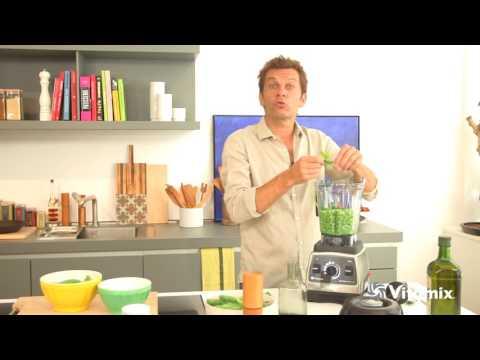 vitamix-pro-750---recette-soupe-de-petits-pois-laurent-mariotte