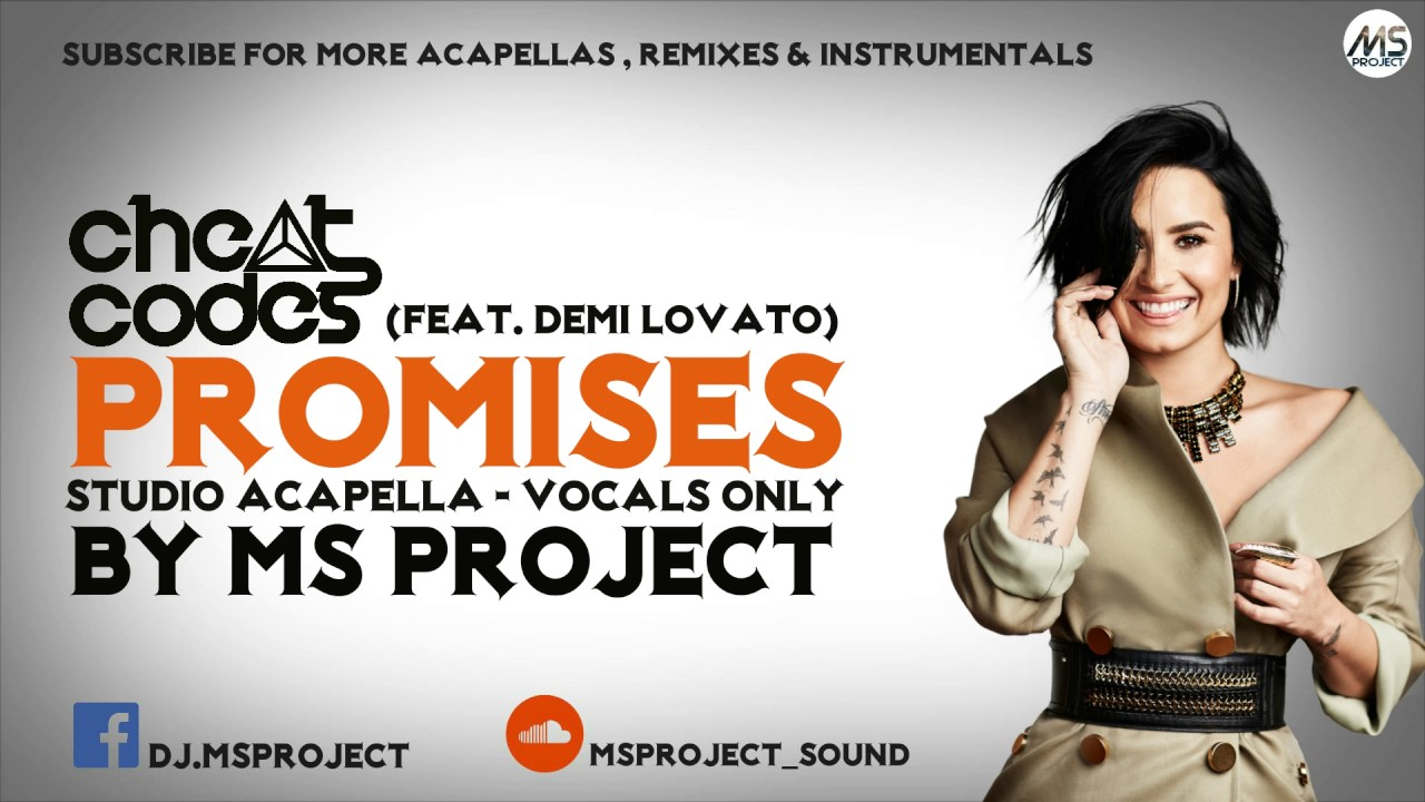 cheat-codes-ft-demi-lovato-no-promises-studio-acapella-vocals-only-ms-project-sound