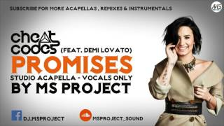 Video Cheat Codes ft. Demi Lovato - No Promises (Studio Acapella - Vocals Only) download MP3, 3GP, MP4, WEBM, AVI, FLV Maret 2018