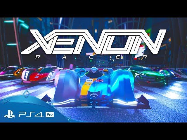 Xenon Racer | Reveal Trailer | PS4