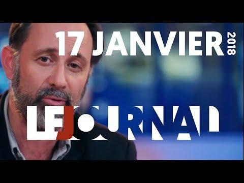 LE JOURNAL DU 17 JANVIER 2018