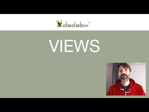 [5/6] How To Create A Web Application With DaDaBIK - Part 5 - VIEWS