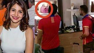 Virat kohli shops for girlfriend anushka sharma