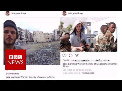 The fake war photographer - BBC News