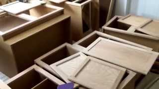 Sanding Your Unfinished Cabinets