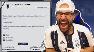JOINING JUVENTUS! RONALDO TRANSFER INC - FIFA 18 Career Mode  #12