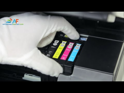 How to replace ink cartridge for Epson XP-300/400