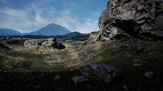 Brushify - Create Photo-realistic Cliffs in Unreal Engine 4 [Full Breakdown]