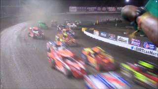 Volusia Speedway Park BB Mod 4-Wide Salute and Start