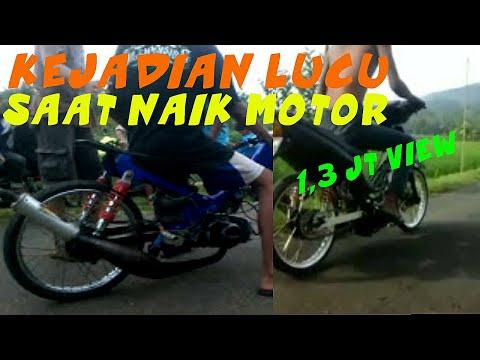 Drag Bike Amatir Gagal Start Lucu
